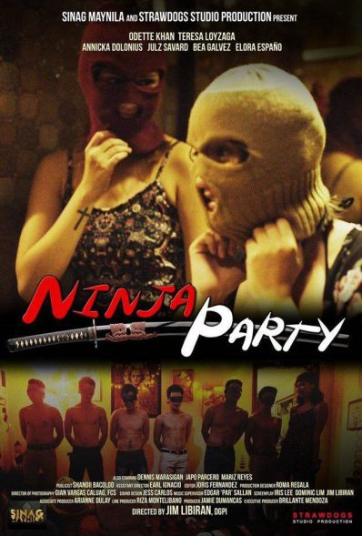 Ninja-Party-movie-poster