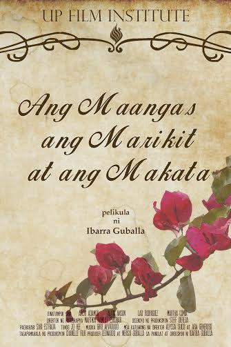 Ang Maangas, ang marikit....